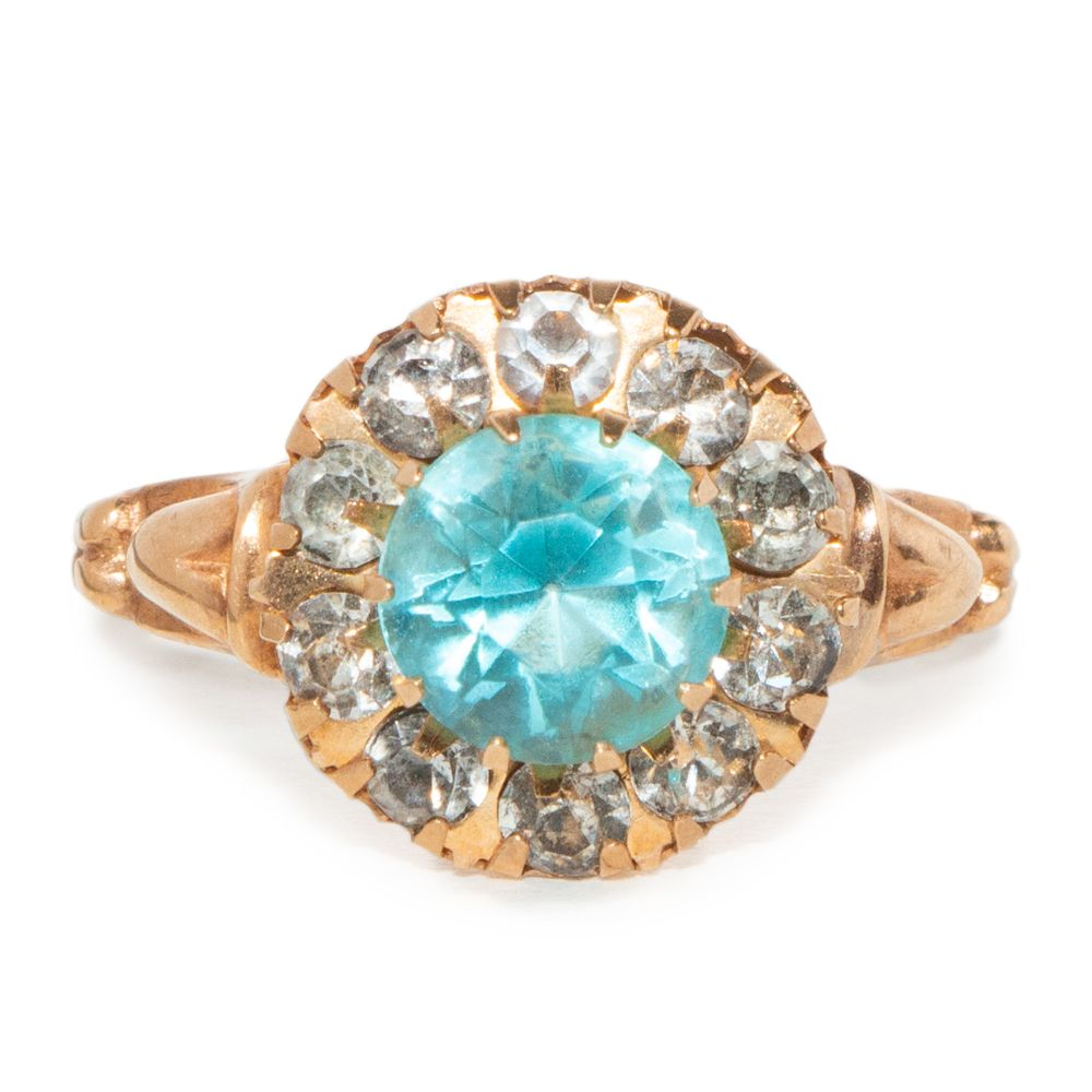 10 Karat Gold Light Blue And Smokey Topaz Ring In 2020 Smokey Topaz Ring Smokey Topaz Topaz