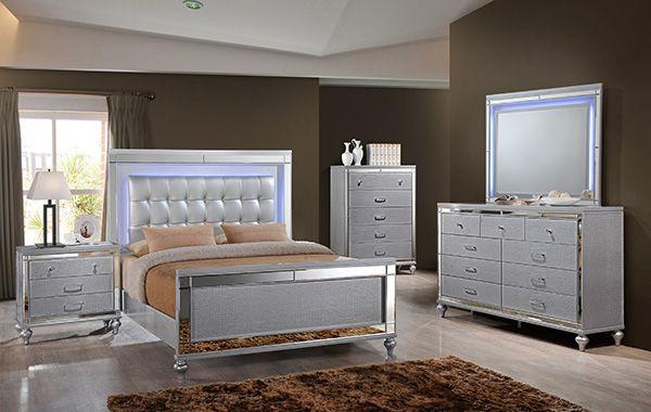 New Classic Valentino Queen Bedroom Set | Furniture Market, Austin ...