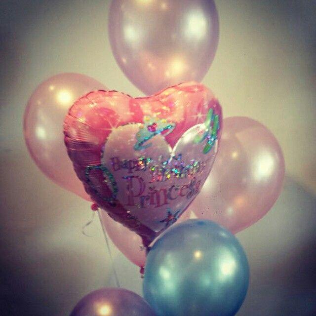 Vandaag weer een mooi ballonnenboeket mogen opsturen voor de verjaardag van een kleine Prinses