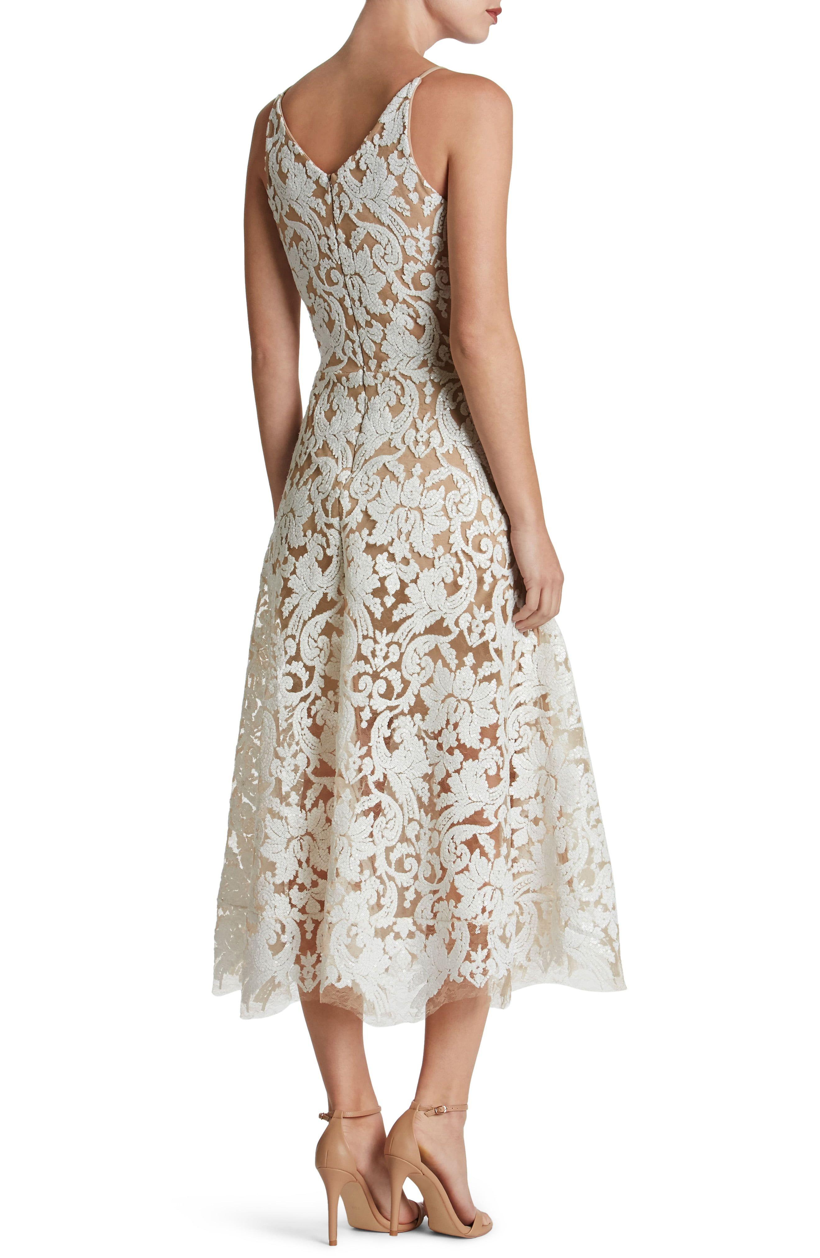Dress The Population Blair Embellished Fit Flare Dress Nordstrom In 2021 Lace Midi Dress Flare Dress Fit Flare Dress [ 4048 x 2640 Pixel ]