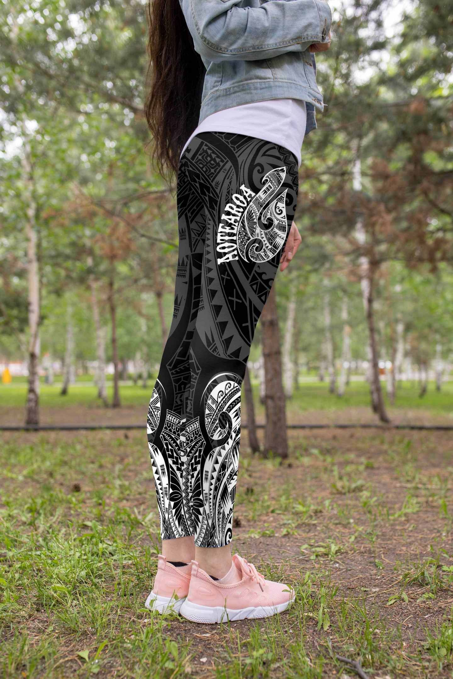 Hei Matau Maori Tattoo Leggings in 2020 | True tattoo ...