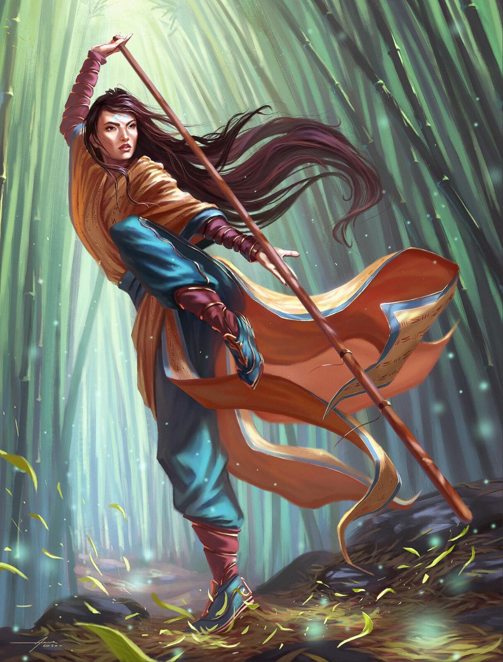 Artstation Narset Fanart Asur Misoa Concept Art Characters Fantasy Paintings Character Art