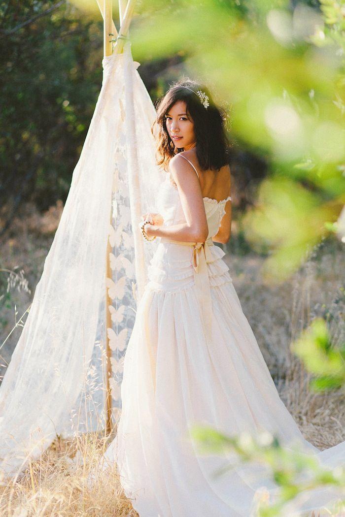 @Liz Mester Mester Cherkasova : Wedding Shoot Teaser, BHLDN gown and dress