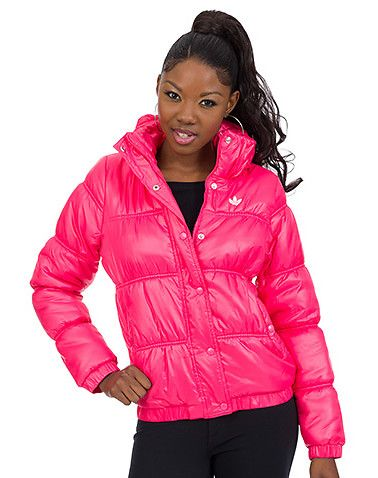 d67f8689c6367 adidas WOMENS PADDED JACKET Pink | get!!! | Padded jacket, Jackets ...