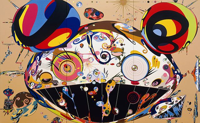 Live for Bidding Now Superflat: Works by Takashi Murakami