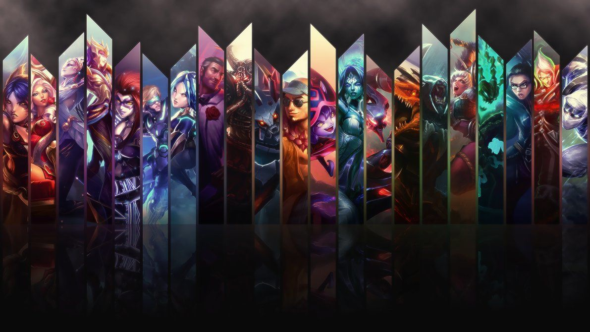 League Of Legends Wallpaper Maker Wallpaper