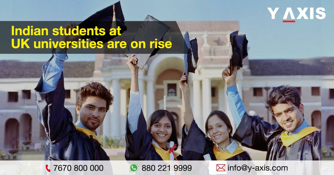 Indian students in the UK are on the rise in 2020 Uk