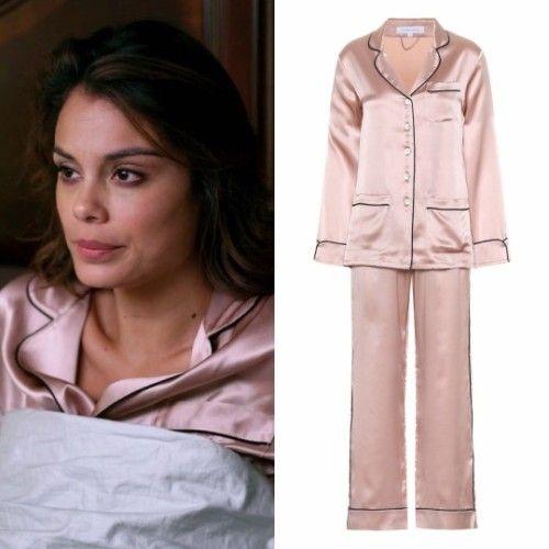 Cristal Flores wears this Olivia von Halle