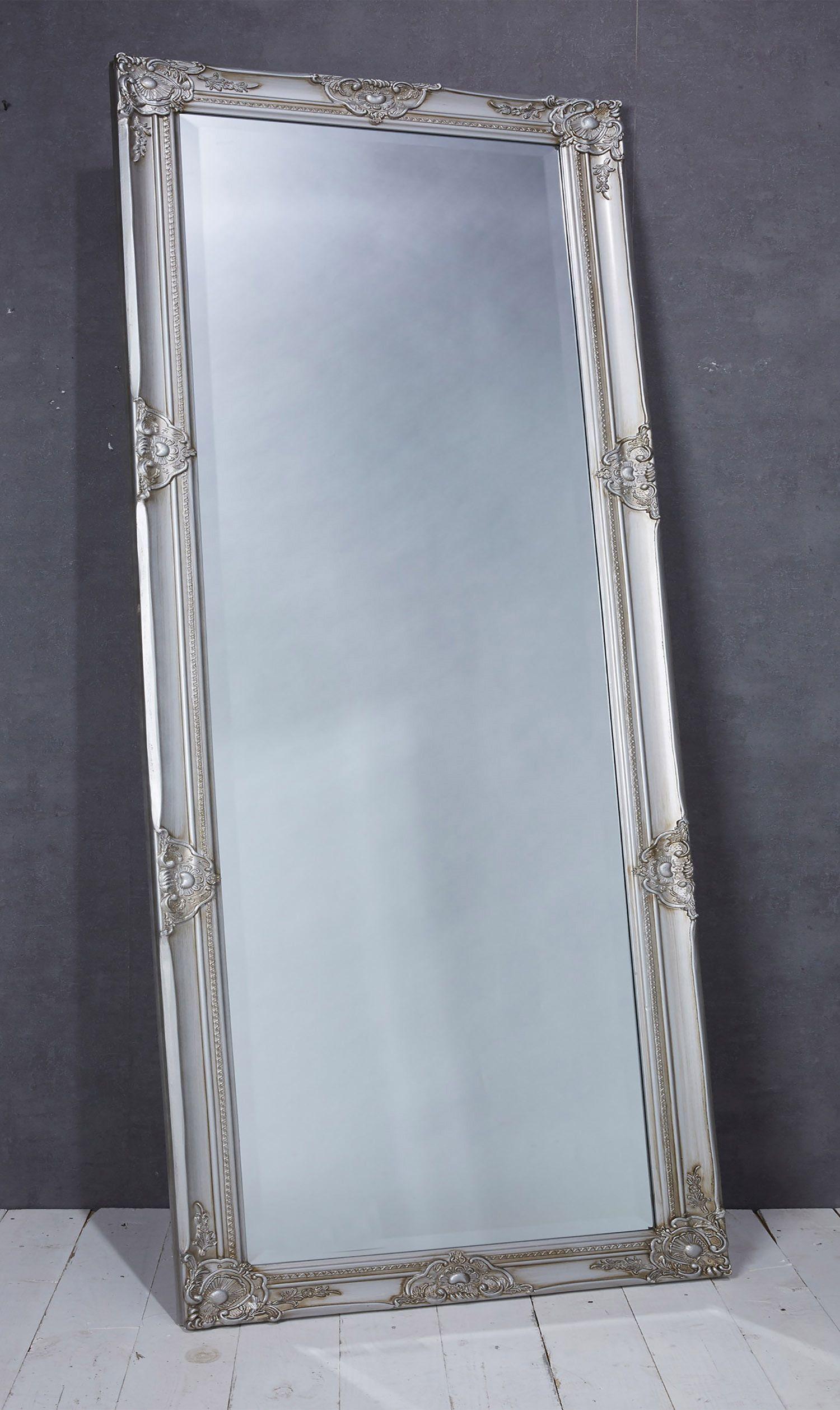 Wandspiegel Spiegel Silber Ca 180 X 80 Cm Antikstil