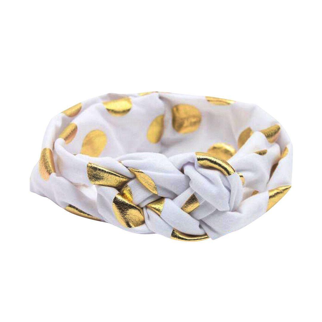 Girls Dotted Headband