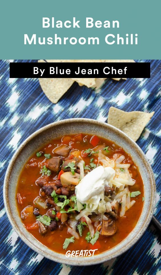 Pressure Cooker Recipes: 5 Soup and Chili Recipes | Mushroom Chili  Mushrooms have a knack for finding their way into every vegetarian dish, which can be both a blessing and a curse. With this recipe, the earthy combination of mushrooms, onions, and celery makes this flavor combination a win for everyone on team mushroom... or not.