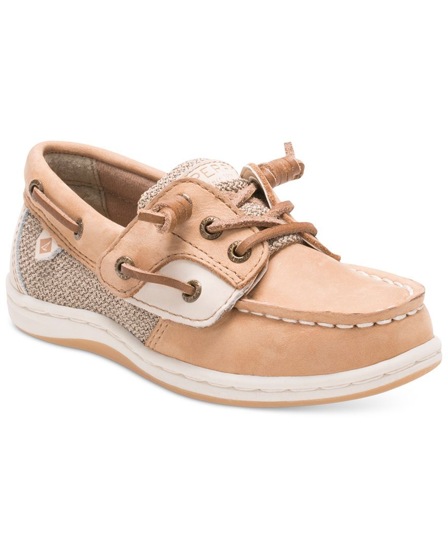 612a0123463 Sperry Little Girls  or Toddler Girls  Songfish Jr. Boat Shoes