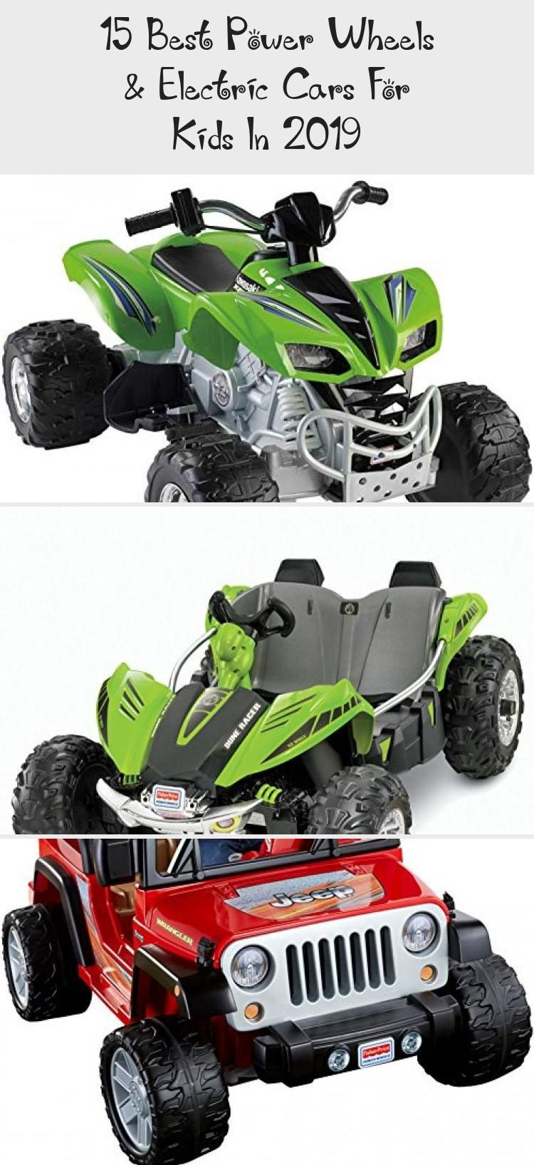 15 Best Power Wheels & Electric Cars For Kids In 2019 in