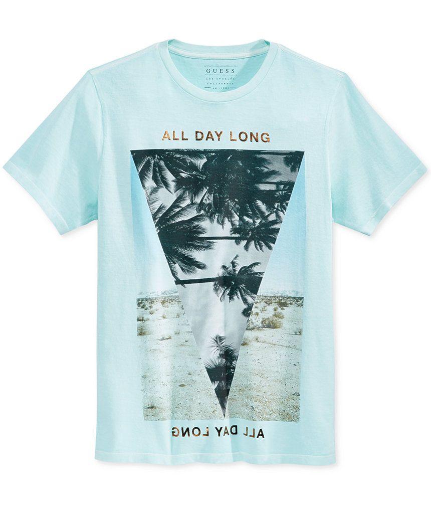 GUESS Men's Palm Desert Graphic-Print T-Shirt - T-Shirts - Men