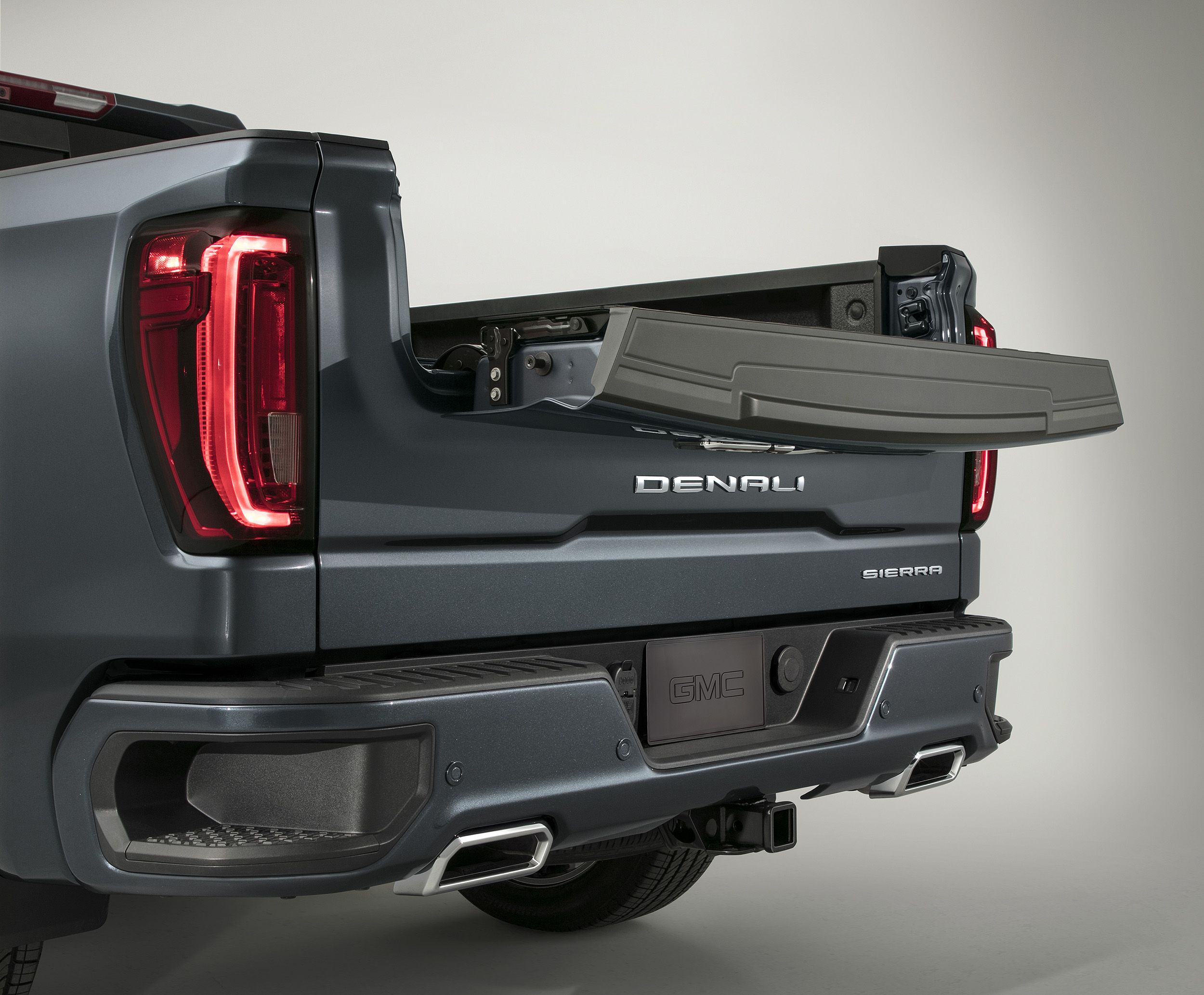 2019 Gmc Sierra 1500 Tailgate Of The Future Gearjunkie Gmc Trucks Gmc Sierra Denali Classic Trucks