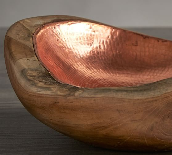 Copper Inlay Wood Bowl In 2019 Miracle House Stuff