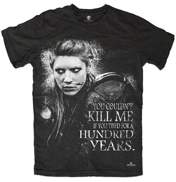 9ba75c829 T-shirt Vikings Lagertha History Tv Show Inspired by VolkRuna ...