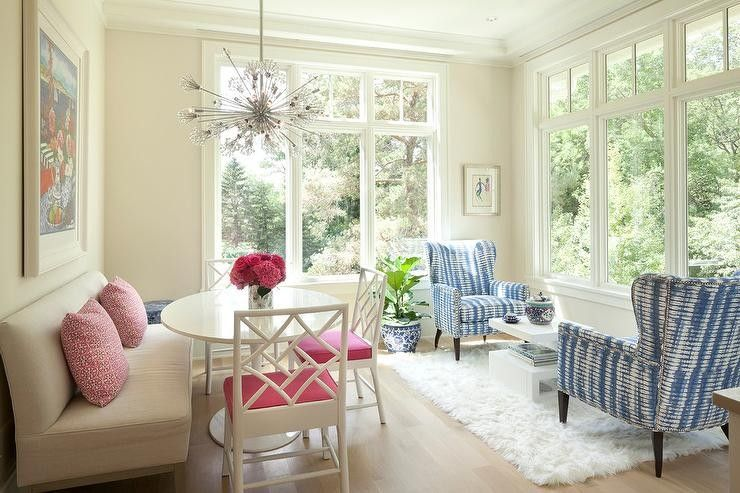 Pin by Briana Thomas on Home | Sunroom dining, Living room ...