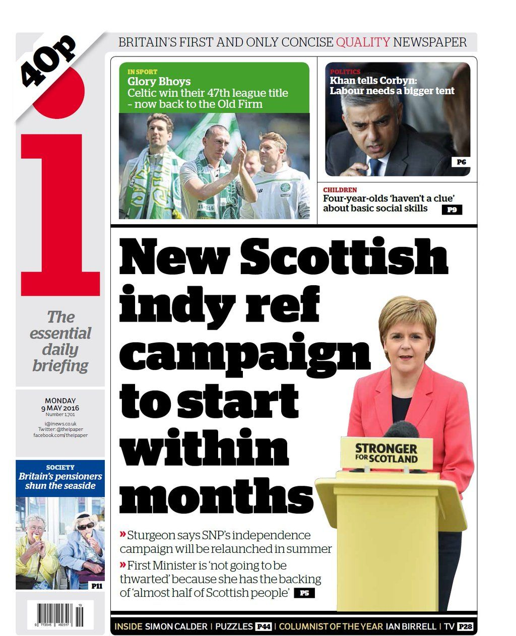 Nick Sutton On With Images Scottish Campaign Indie