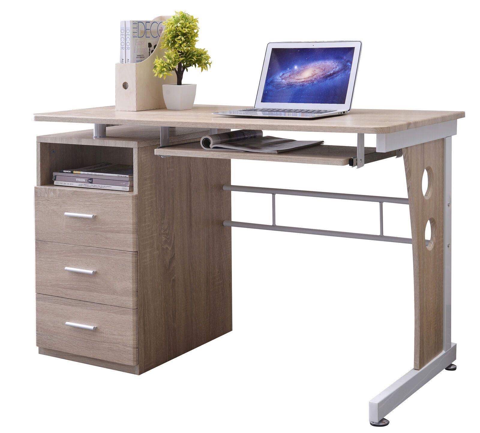 Sixbros Bureau Informatique Meubles De Bureau Chene S 352 2074 Informatique Idees De Informatique Informatique Office Desk Desk Corner Desk