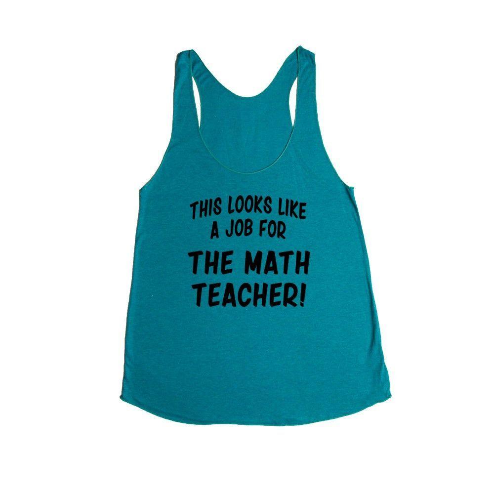 This Looks Like a Job for The Math Teacher Super Hero Comic Book ...