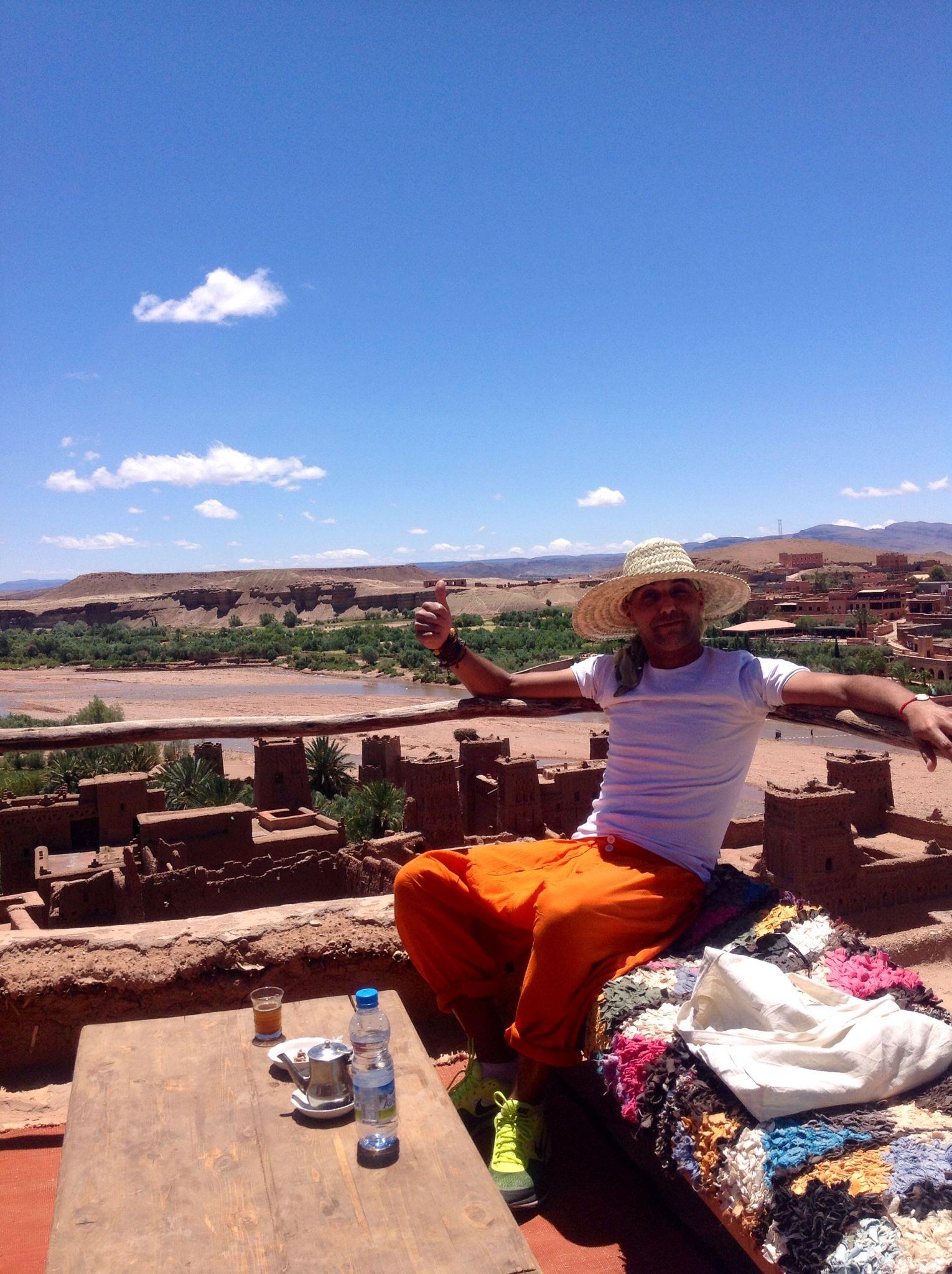 Kasbah ait ben haddou ouarzazate Maroc