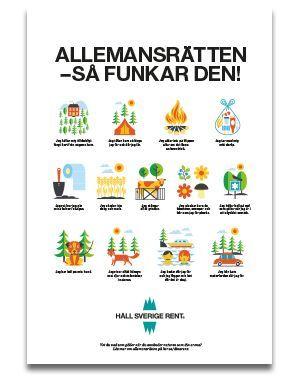 Upptäck allemansrätten! | Håll Sverige Rent
