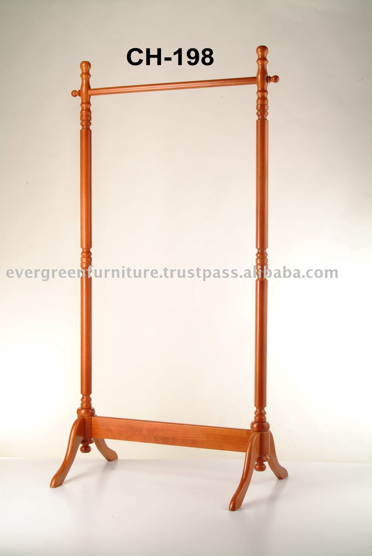 Wooden Garment Rack Display Clothes Product On Alibaba Com