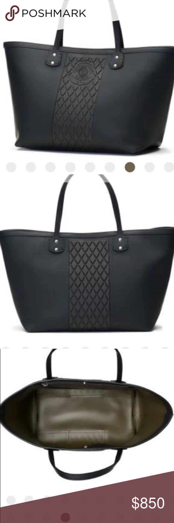 ef84abd5bf02 NWT - Ghurka rubberized leather tote NWT- The Smyth II large tote bag. Its
