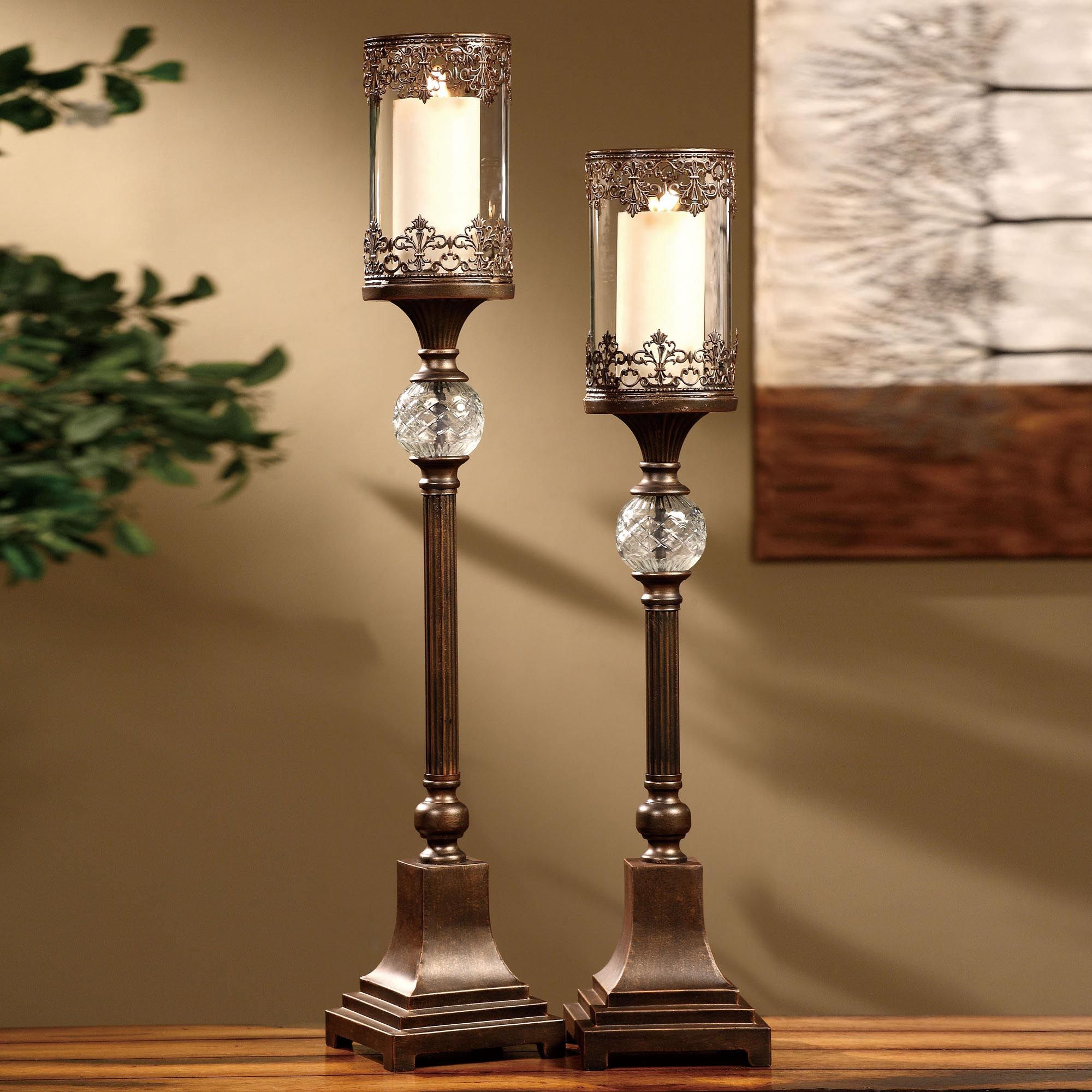 Large Candle Holders For Fireplace Candles In Fireplace Fireplace Candle Holder Floor Candle Holders