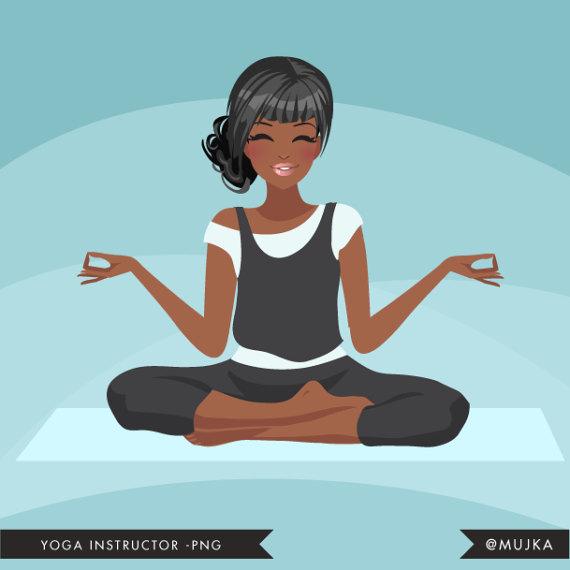 Yoga Instructor Avatar. Yoga, Healthy Living Character