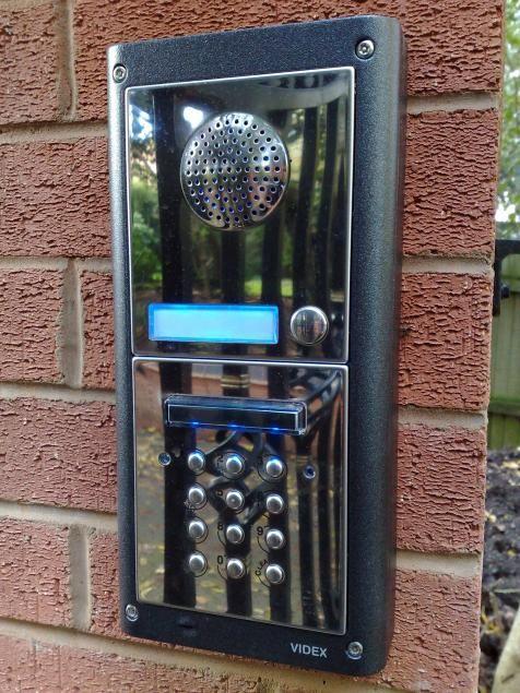 Videx 4000 Series Intercom Keypad Driveway Gate