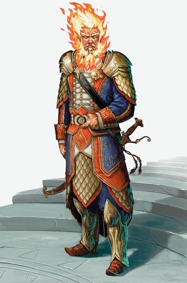 Dungeons & Dragons: Genasi (inspirational)
