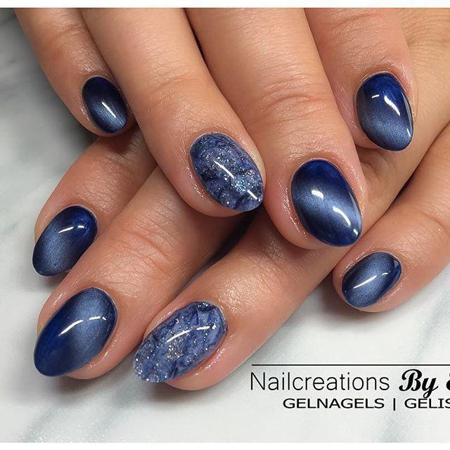 cat eye gels stilettos pinterest nageldesign nagelschere und blaue n gel. Black Bedroom Furniture Sets. Home Design Ideas