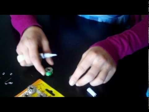 2 Pendientes Carretes Hilo y Ovillo Lana Diy,s - enrHedando