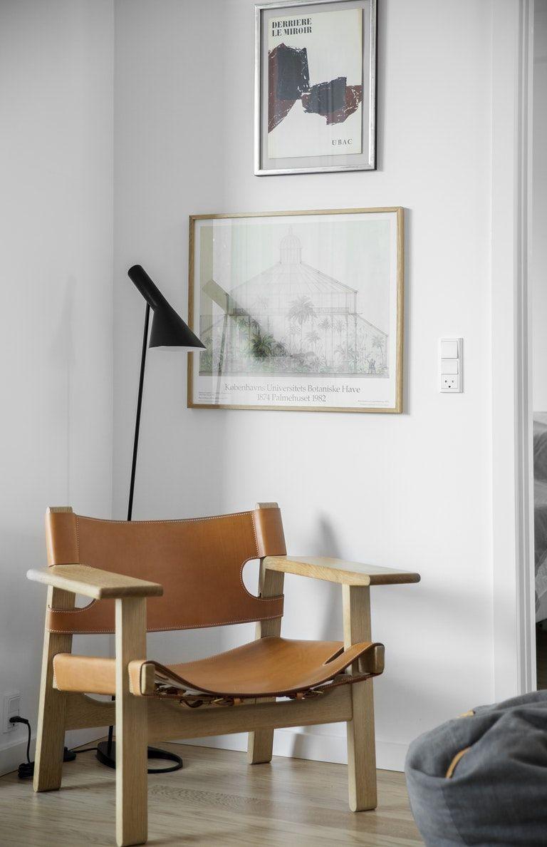 Arkitektens monokrome minimalisme og nordiske forkærlighed