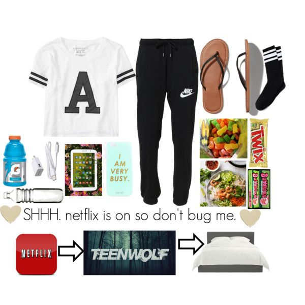 Me & thy average night by aknhep on Polyvore featuring polyvore fashion style Aéropostale NIKE Abercrombie & Fitch BCBGeneration Sagaform Samsung