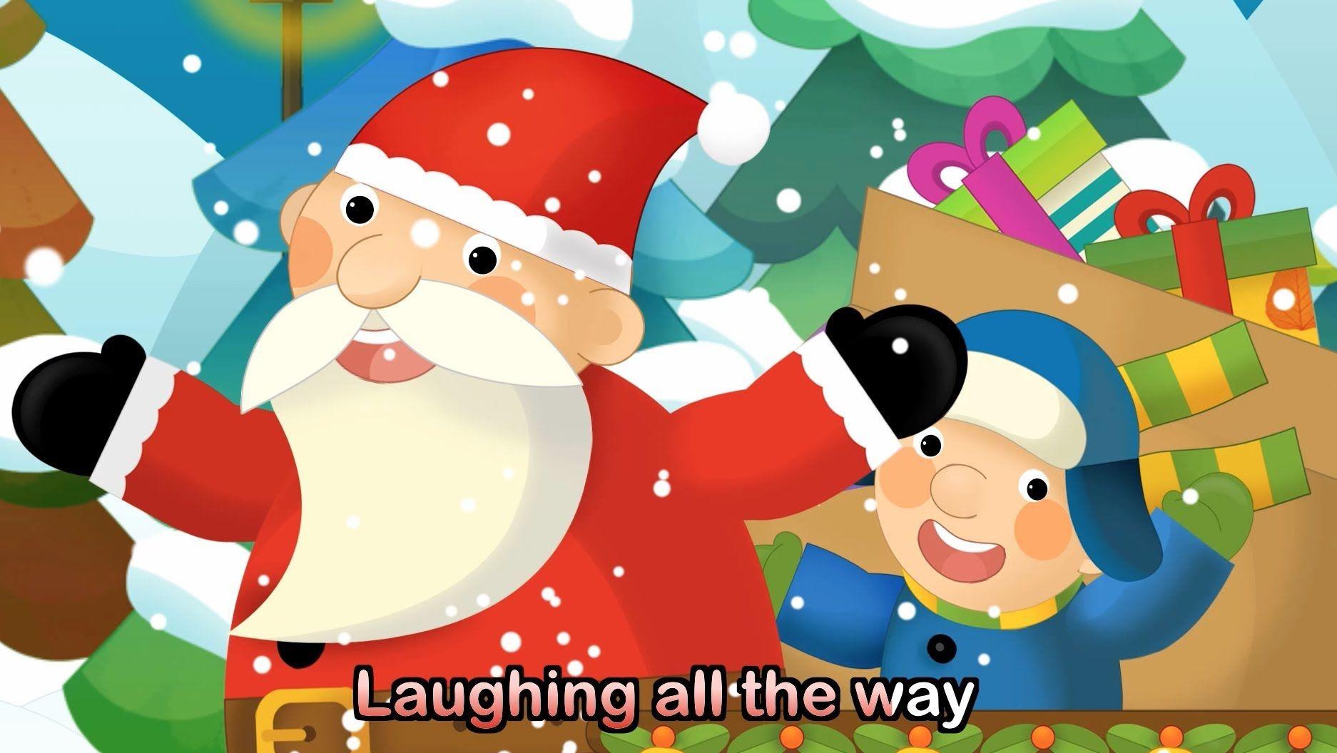 Jingle Bells with lyrics Kids Christmas Songs & Nursery