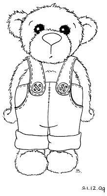 corduroy bear printable coloring page - free printable corduroy bear coloring sheet preschool