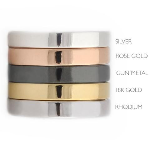 Jewelry Plating Service - Rose Gold Plating - 18K Plating - Silver