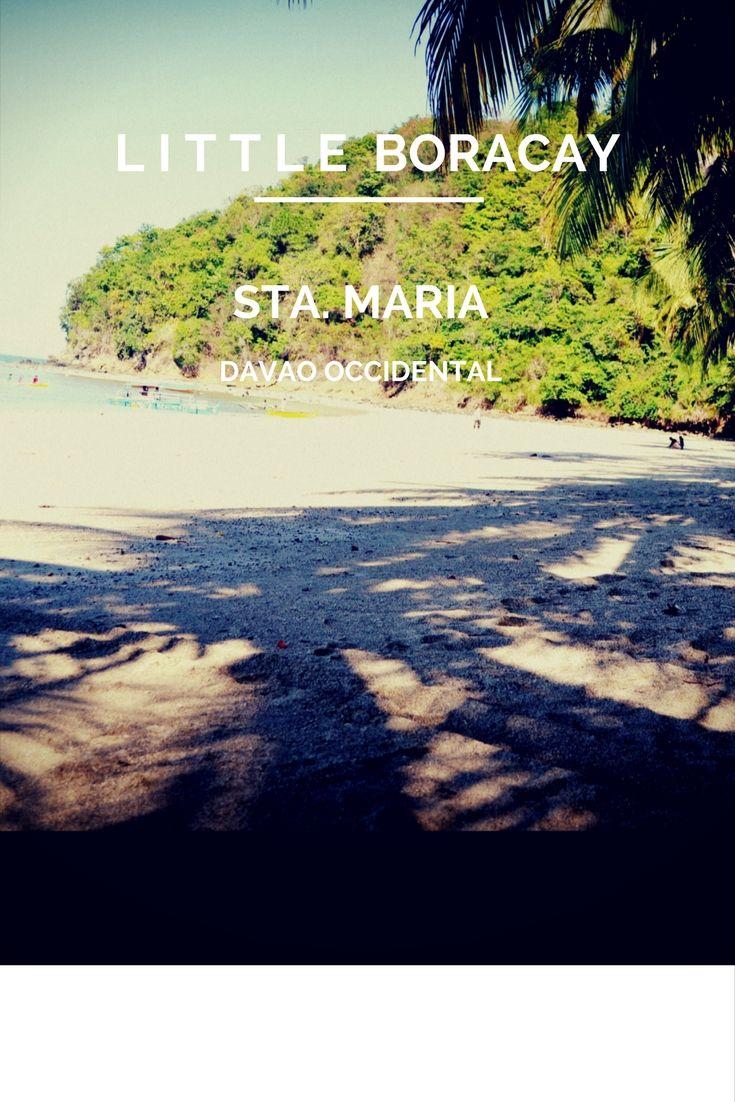 Little Boracay in Sta  Maria, Davao Occidental | tourist spots in