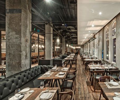 Neri&Hu mix warmth and industrial chic in Chef Jean Georges' second Shanghai restaurant writes Luo Jingmei