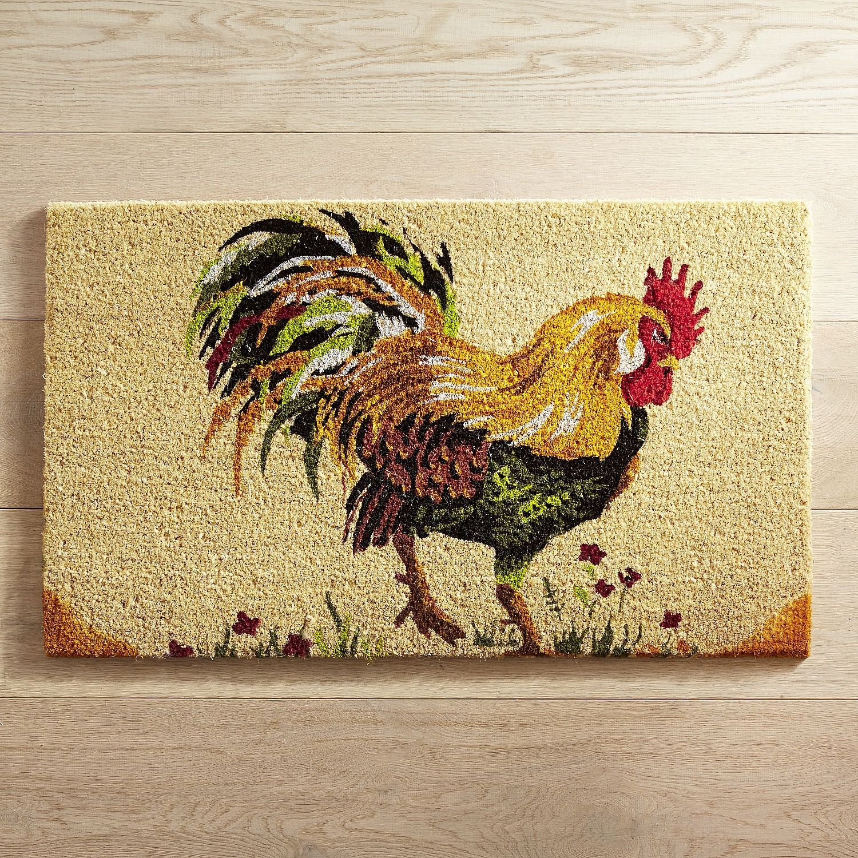 Ordinaire Rooster Doormat