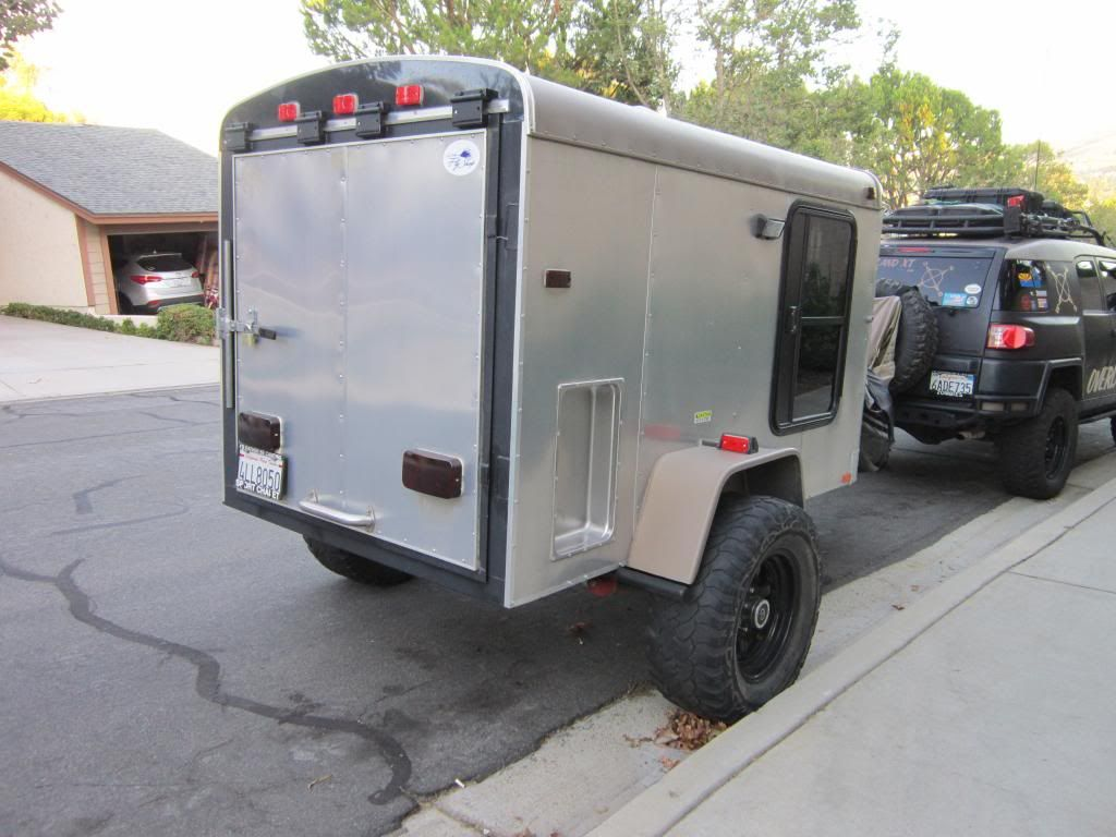 off road cargo trailer for sale sold expedition portal offroad camping ideas. Black Bedroom Furniture Sets. Home Design Ideas