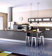Une cuisine blanche XXL, Cuisinella | Cuisine, Marie claire and Nova