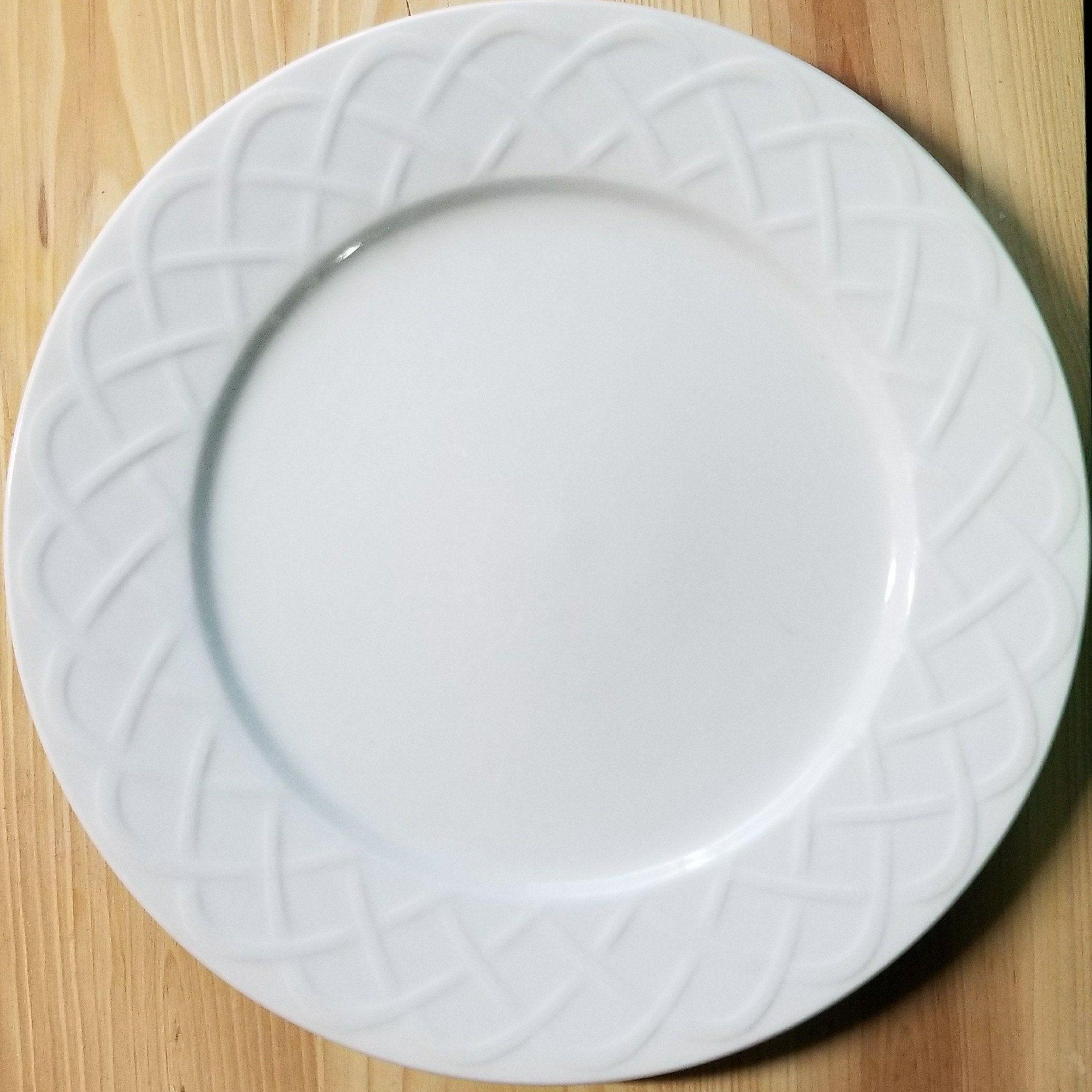 Ceramic Plates/Oneida Picnic Plates/Vintage China/Oneida Picnic Dinner Plates/ Oneida Chop Plate/Oneida China Plates/Ceramic Plates/Oneida & Ceramic Plates/Oneida Picnic Plates/Vintage China/Oneida Picnic ...
