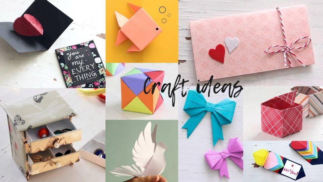 Paper Craft Ideas Easy Paper Crafts Paper Crafts Diy Crafts