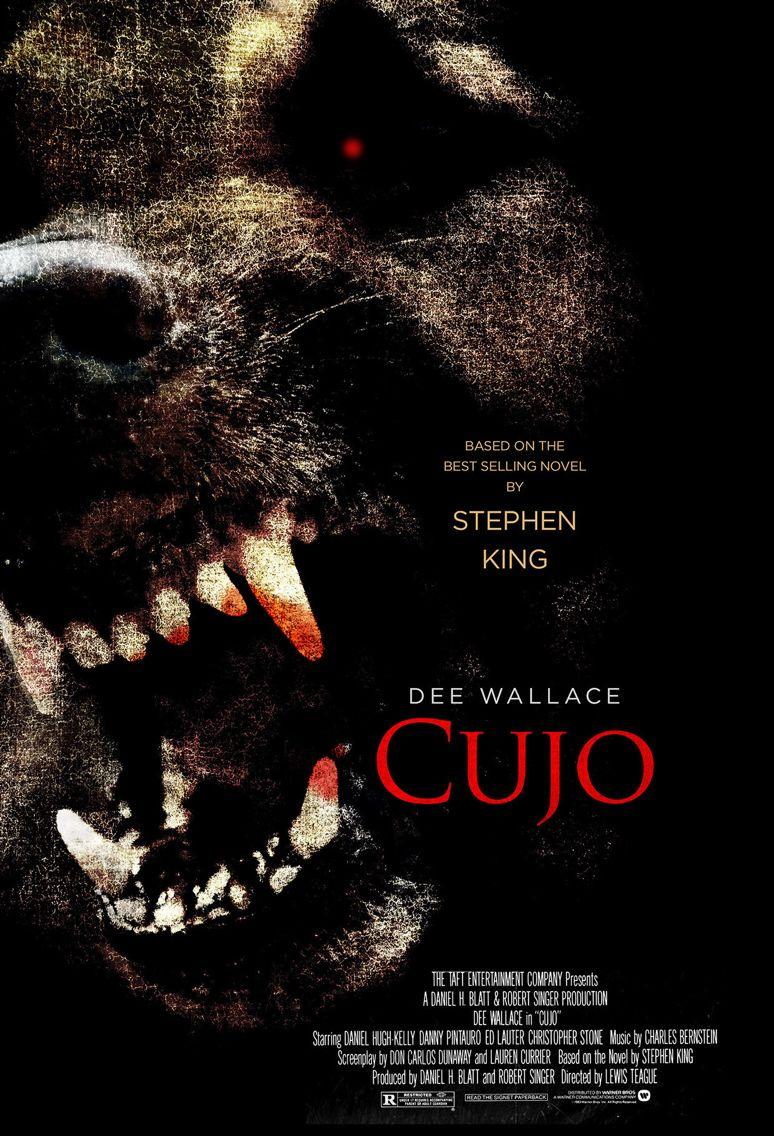 Stephen King S Cujo Stephen King Movies Classic Horror Movies 1980s Horror Movies
