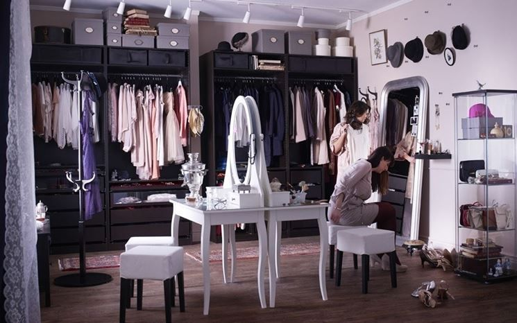 Cabina armadio Ikea, opinioni, dimensioni, consigli