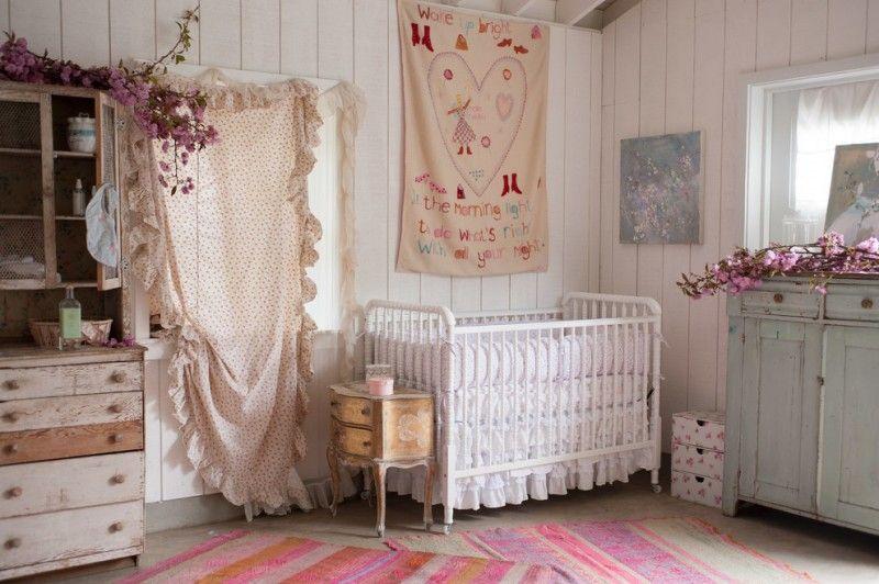 Shabby Chic Nursery, Shabby Chic Baby Furniture